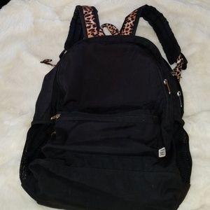 Pink vs backpack